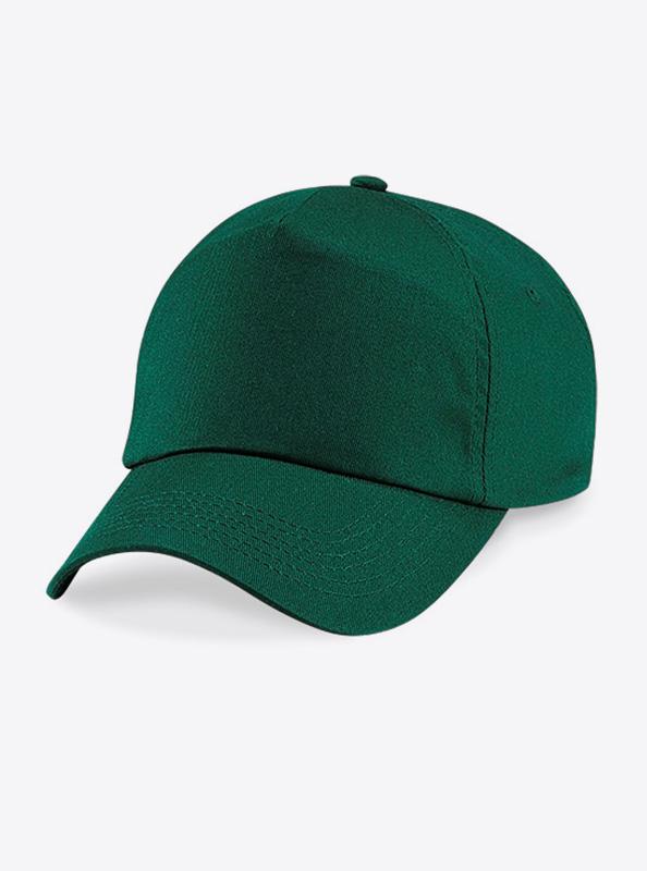 Baseball Cap Bedrucken Oder Besticken Mit Logo Beechfield B10 Bottle Green