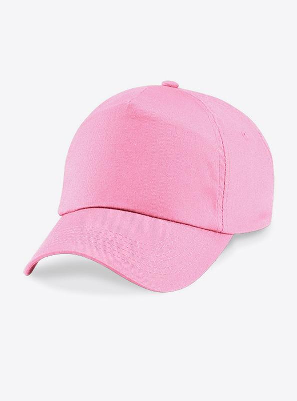 Baseball Cap Bedrucken Oder Besticken Mit Logo Beechfield B10 Classic Pink