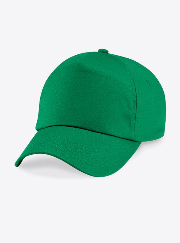 Baseball Cap Bedrucken Oder Besticken Mit Logo Beechfield B10 Farbe Kelly Green