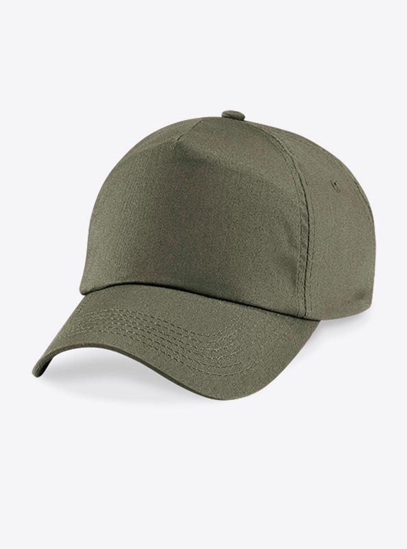 Baseball Cap Bedrucken Oder Besticken Mit Logo Beechfield B10 Farbe Olive Green