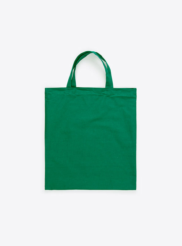Baumwoll Tasche Unbedruckt Gruen