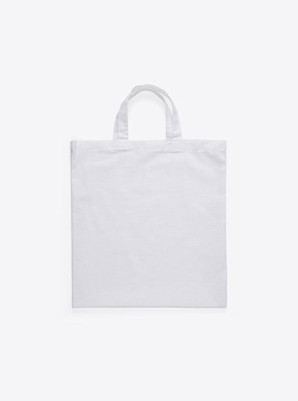 Baumwoll Tasche Unbedruckt Weiss