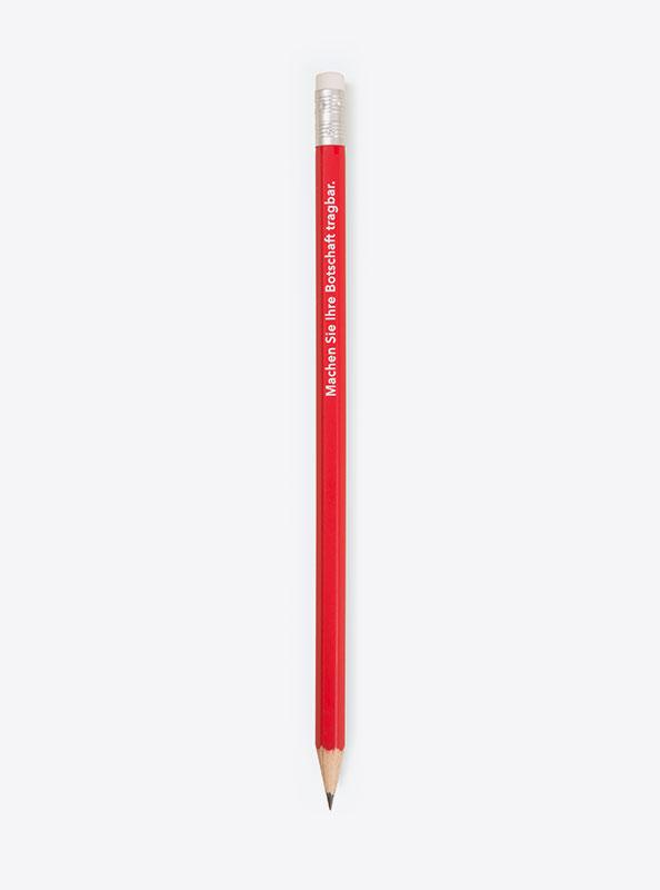 Bleistift Mit Logo Bedrucken Zuerich Standard
