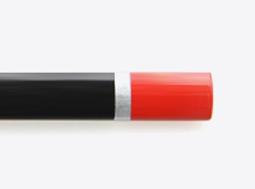 Bleistift Mit Logo Bedruckt Tauchkappe Lackring