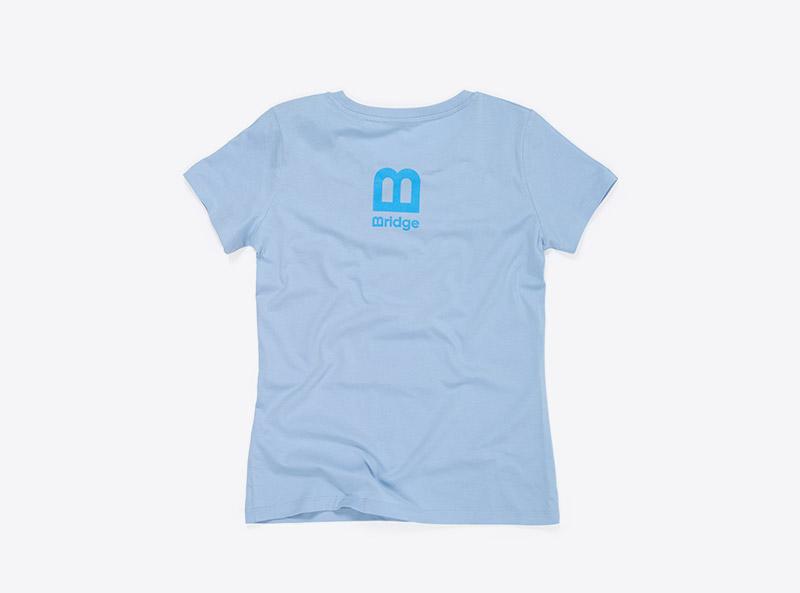 Bridge Zurich T Shirt Staffbekleidung