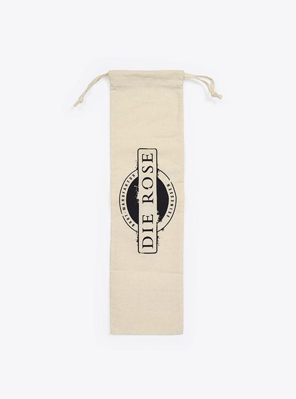 Brotbeutel Baguette Mit Logo Bedruckt Rose