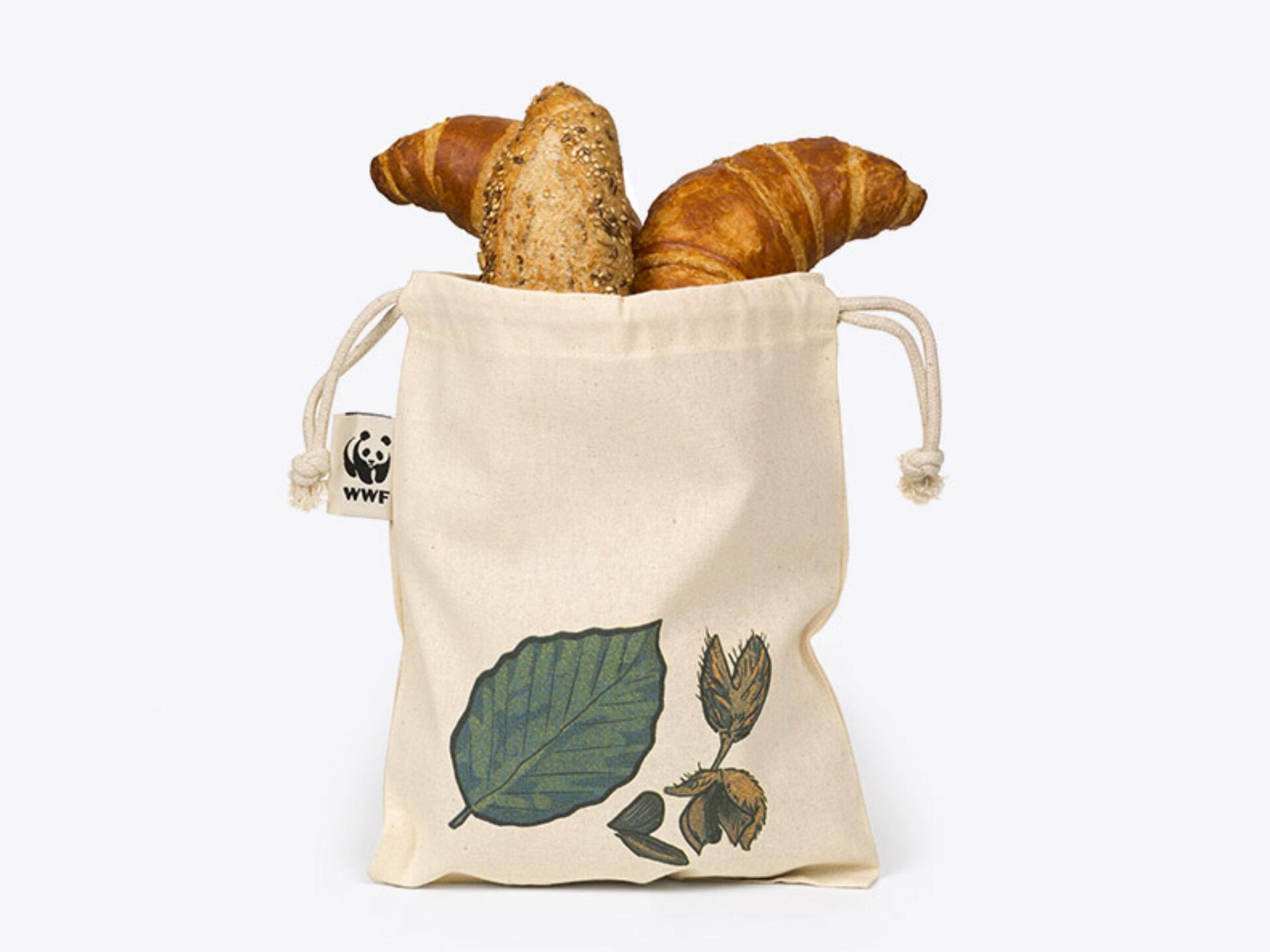 Brotbeutel Mit Logo Bedruckt Variationen Wwf