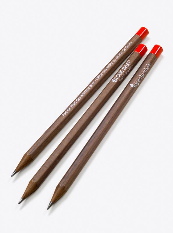 Caran Dache Bleistift Bedrucken Swiss Wood