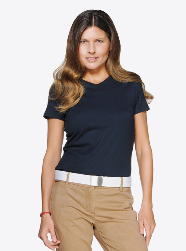 Damen T Shirt Hakro 181 Bedrucken