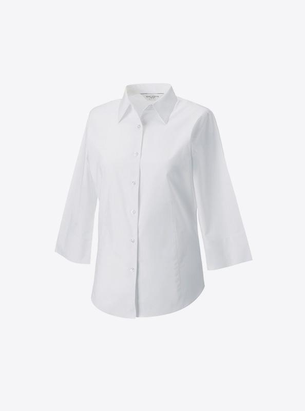Damen Hemd Bedrucken 946f Farbe White