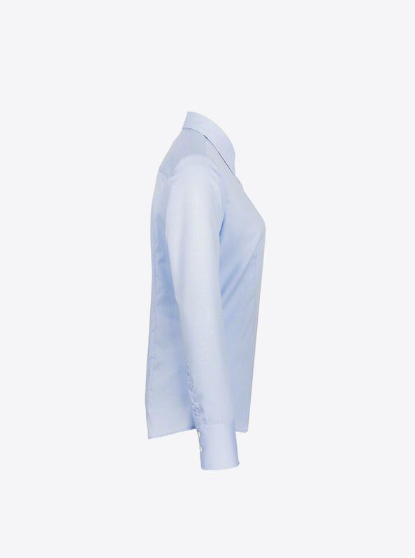 Damen Hemd Langarm Mit Logo Bedrucken Besticken Hakro 102