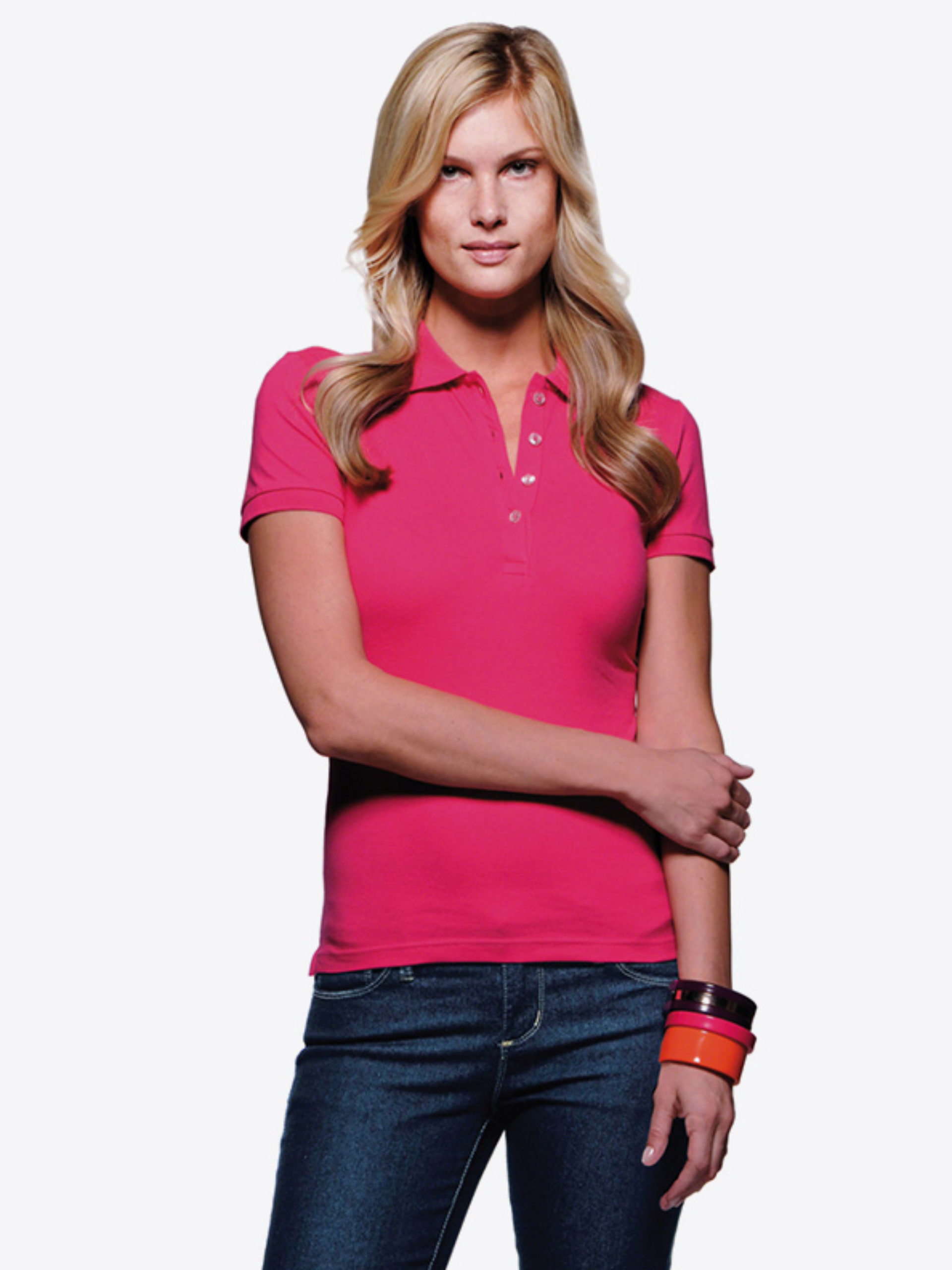 Damen Polo Shirt Hakro 222