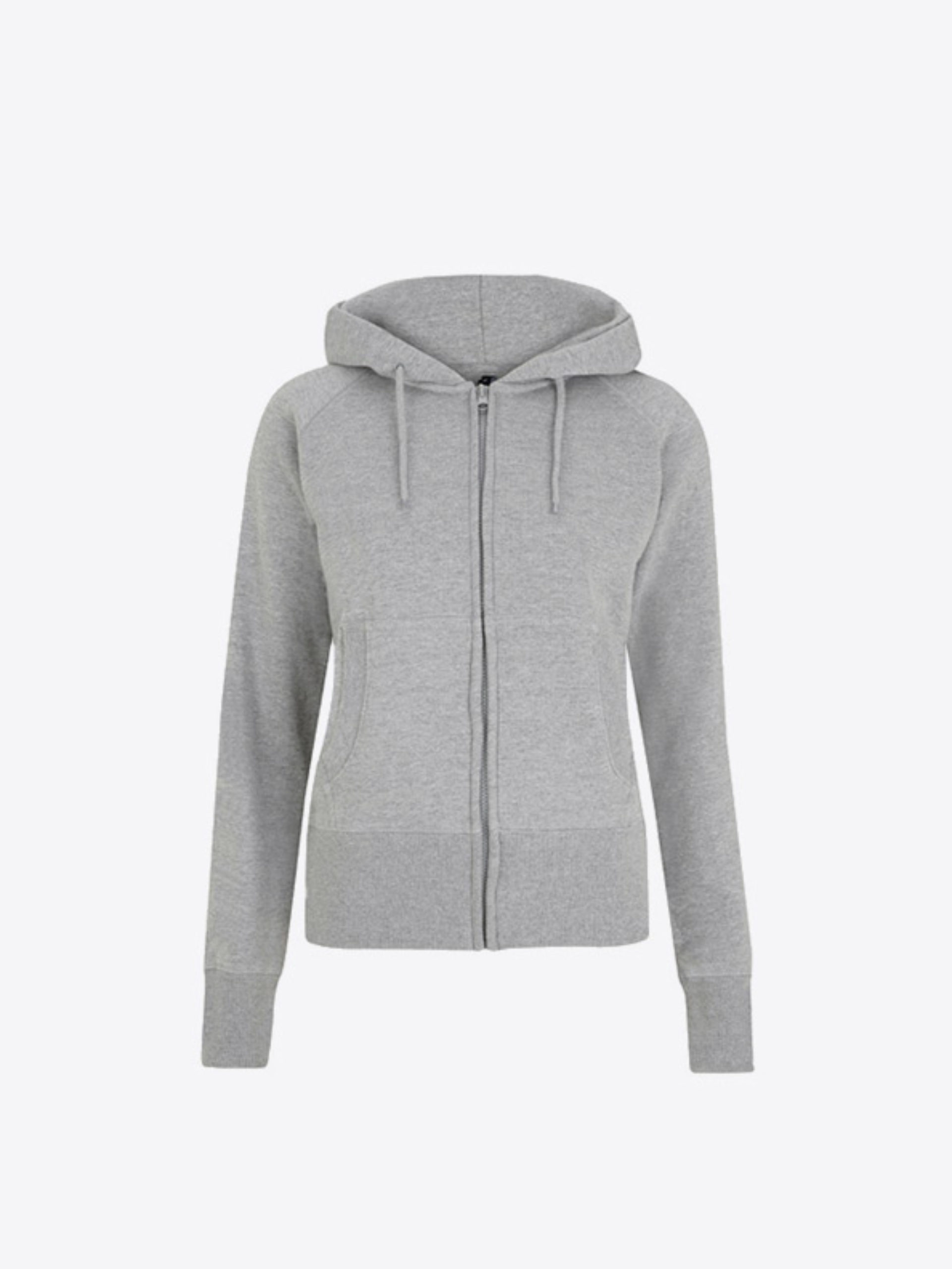 Damen Sweatshirt Mit Kapuze Besticken Lassen Continental N53z Light Heather