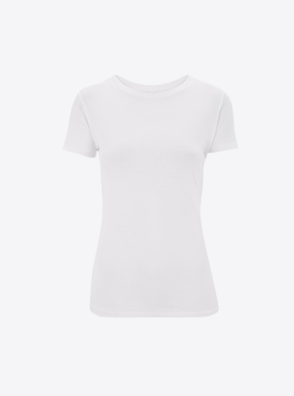 Damen T Shirt Bedrucken Continental N12 Natural