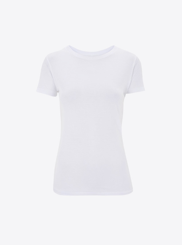 Damen T Shirt Bedrucken Continental N12 White