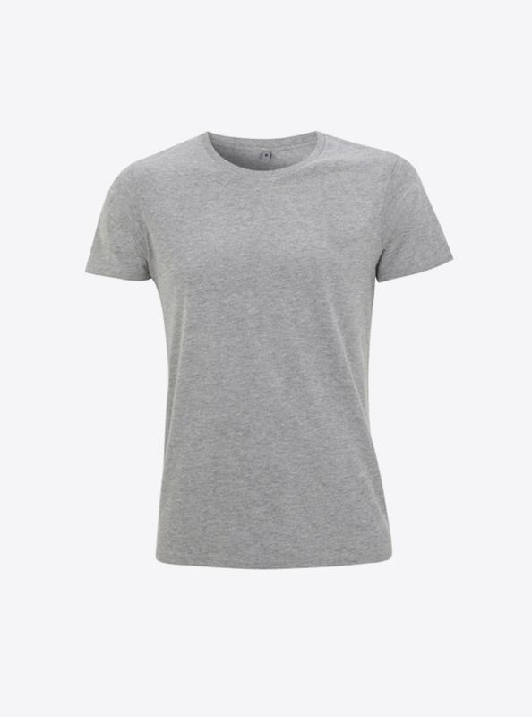 Damen T Shirts Fuer Firma Bedrucken Lassen Continental N18 Melange Grey