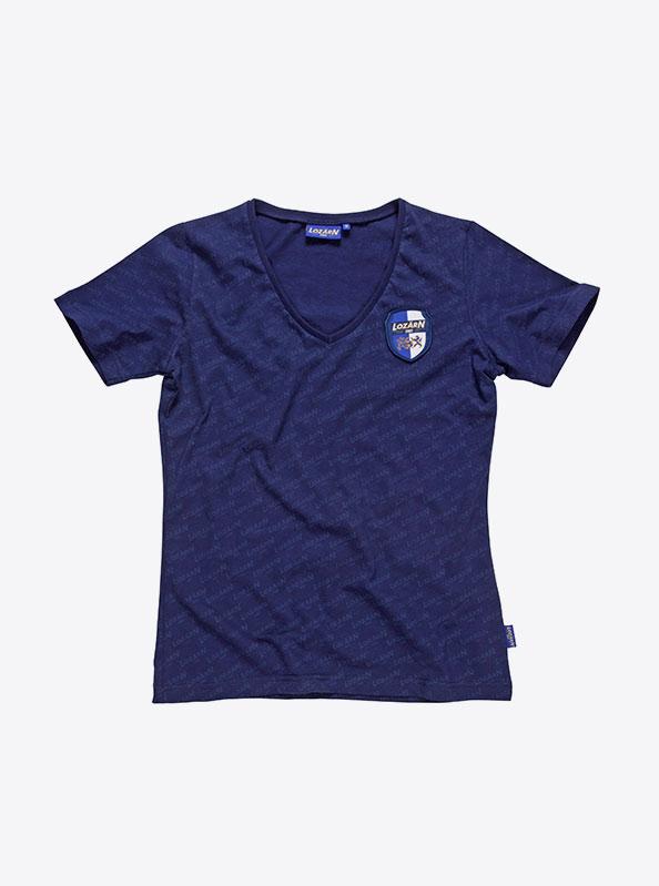 Damen T Shirts Kurzarm All Over Print