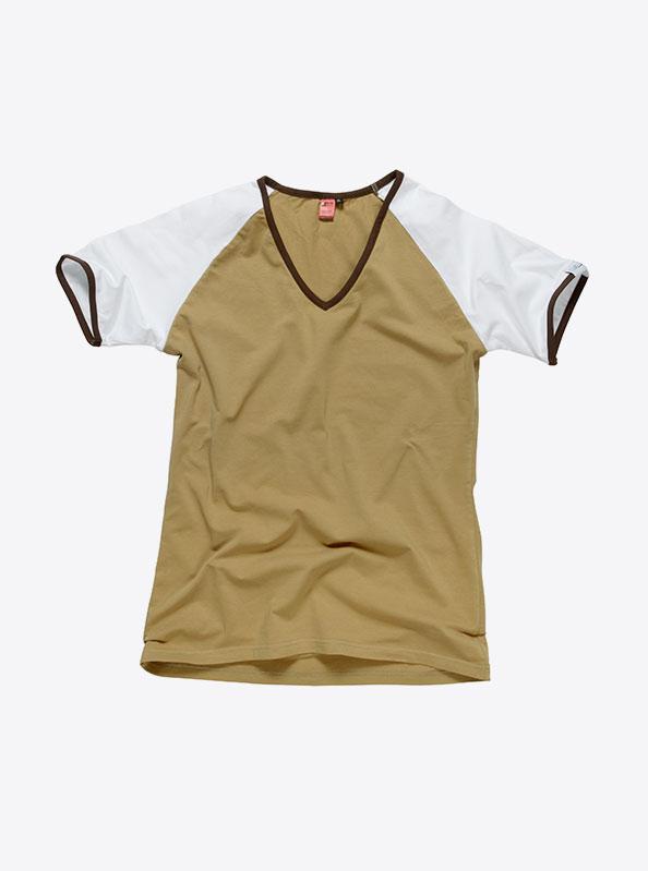 Damen T-Shirts Kurzarm Besticken Lassen