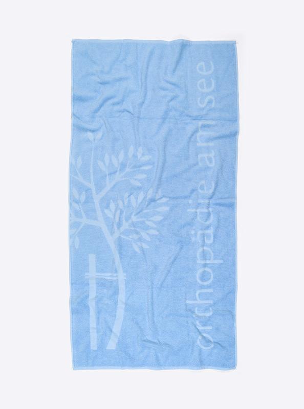 Duschtuch Mit Logo Relief