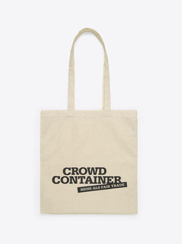 Einkaufstasche Aus Baumwolle Drucken Crowdcontainer