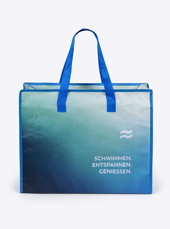 Einkaufstasche Polypropylen Mit Logo Bedrucken