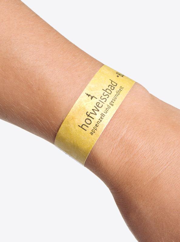 Event Kontrollband Eintrittsband Tyvek Mit Logo Bedruckt