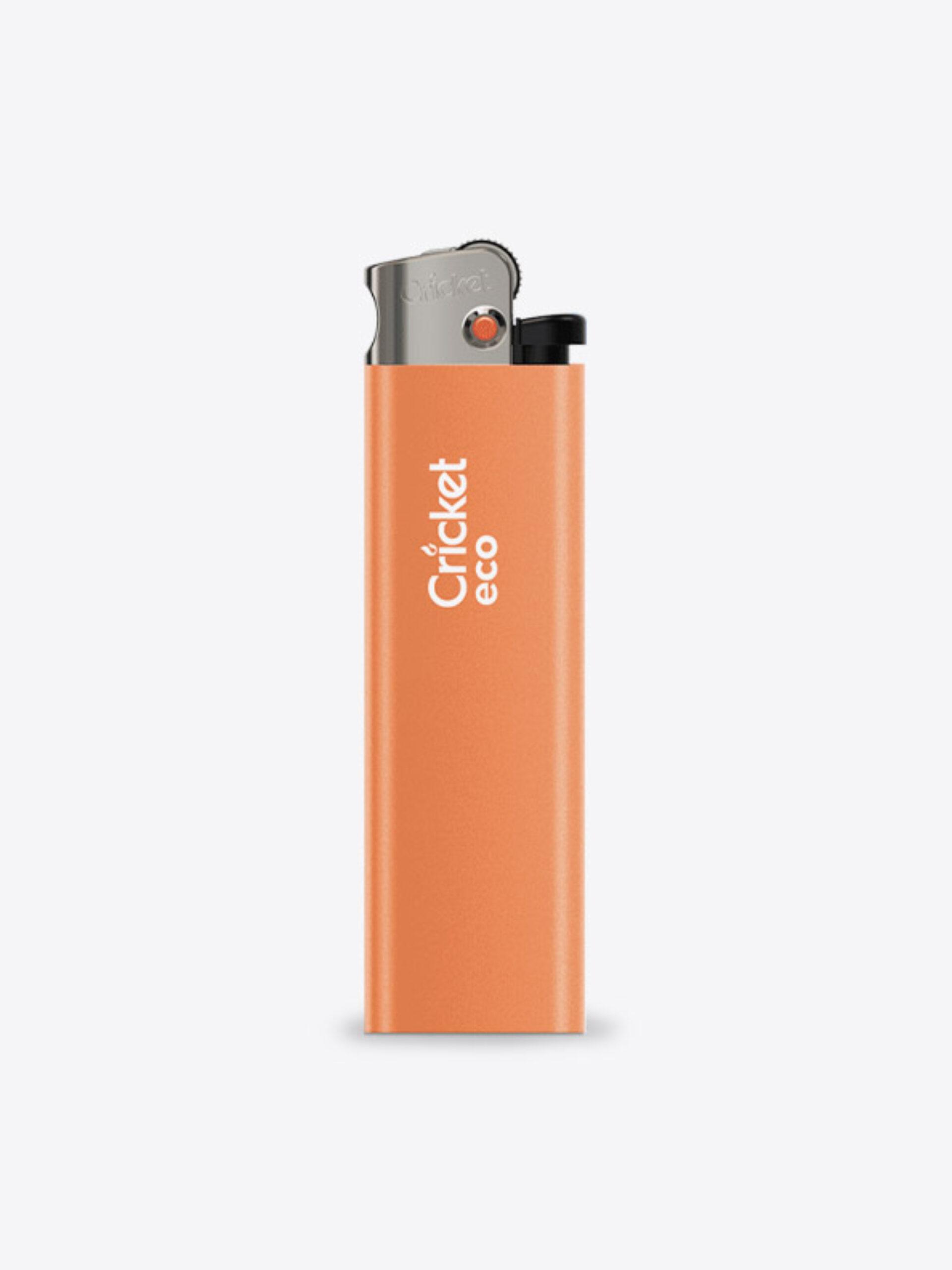 Feuerzeug Eco Mit Logo Motiv Bedrucken Orange