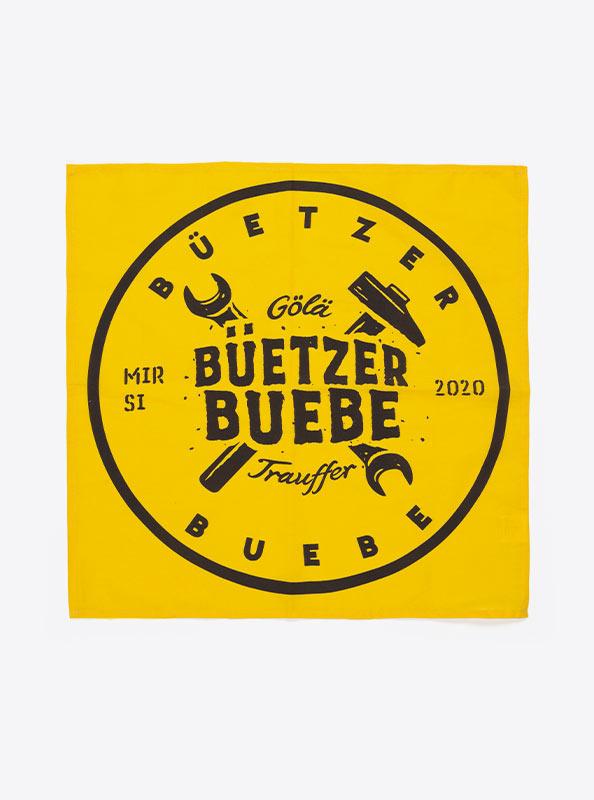 Glarnertuch Baumwolltuch Bandana Mit Logo Bedrucken Buetzer Buebe