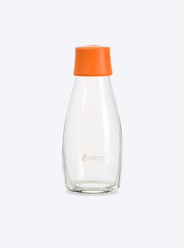 Glas Trinkflasche Retap Mit Firmen Logo Bedruckt