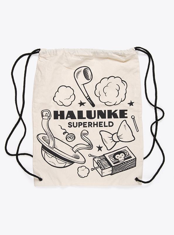 Gym Bag Baumwolle Bedrucken Halunke