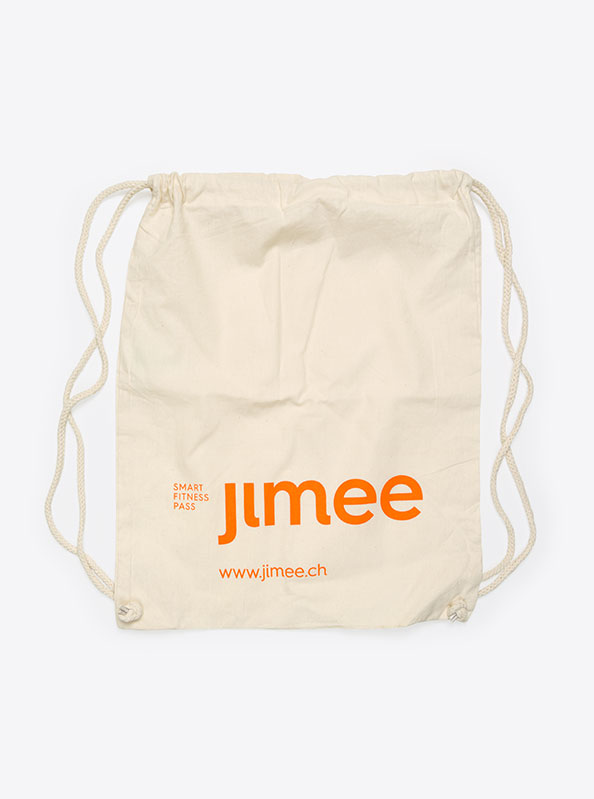Gym Bag Baumwolle Bedruckt Jimee