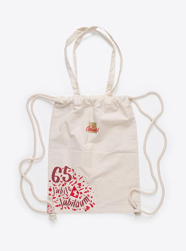 Gym Bag Baumwolle Bedruckt Mit Logo Oswald