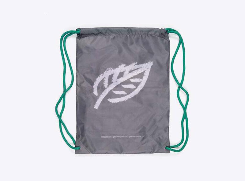 Gym Bag Mit Firmen Logo Bedrucken Rpet Recycling