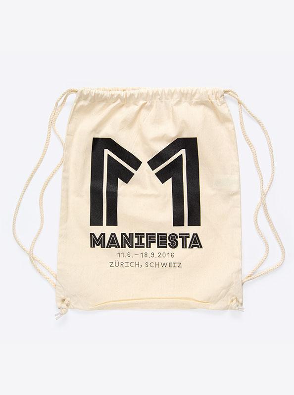 Gym Bag Turn Beutel Manifesta Bedruckt
