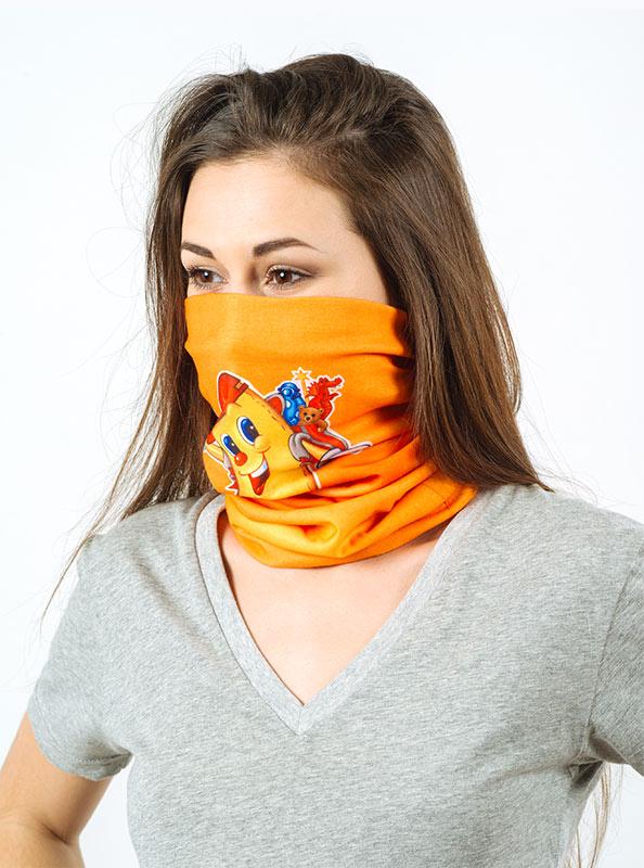 Halstuch Neck Tube Fleece Mit Logo Bedrucken