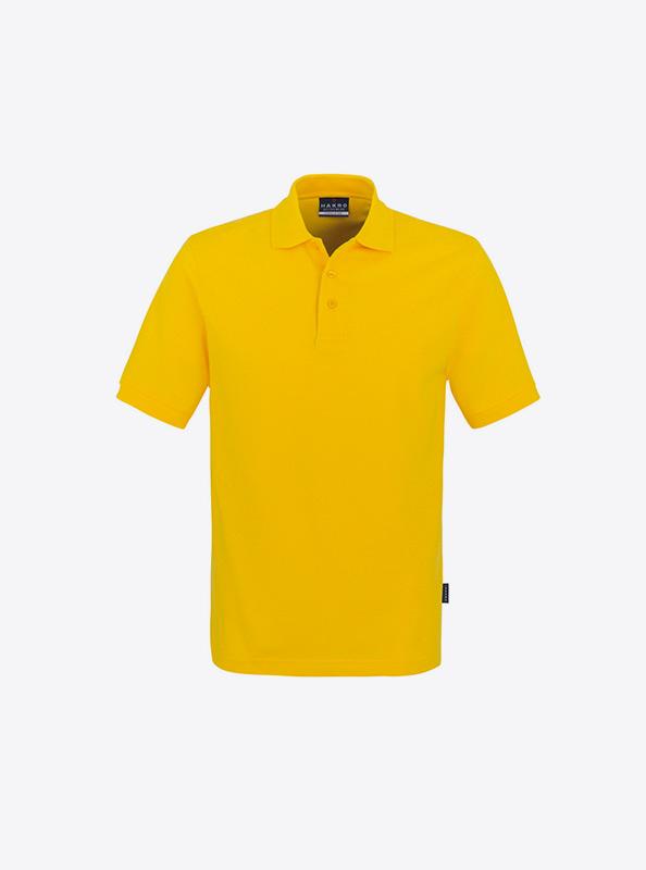 Herren Polo Shirt Am Kragen Besticken Hakro 810 Classic Sonne