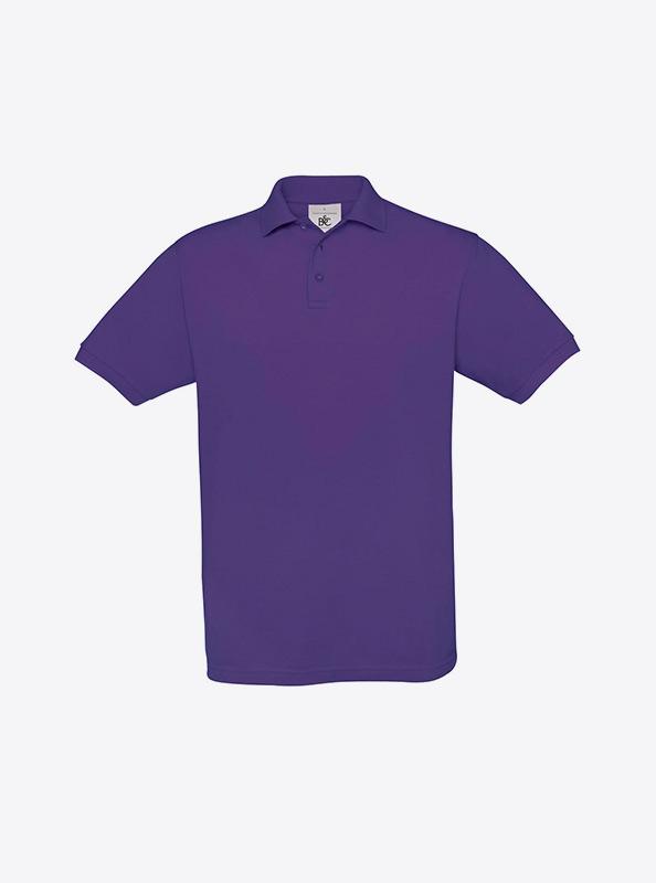 Herren Polo Shirt Bedrucken Lassen Bundc Safran Pu409 Purple