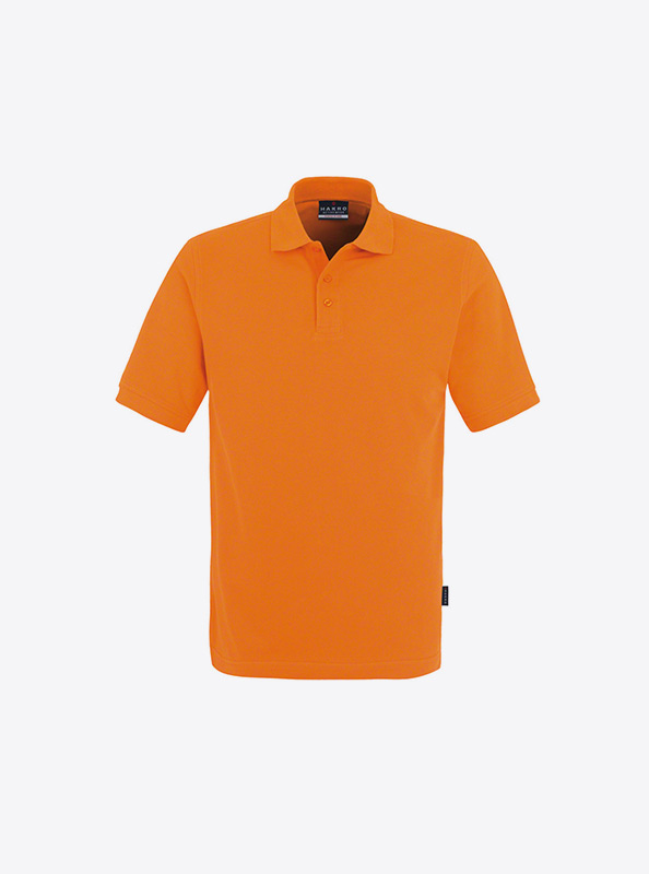 Herren Polo Shirt Besticken Hakro 810 Classic Orange