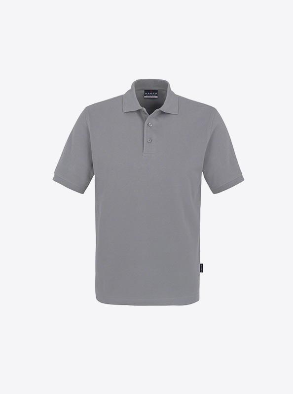 Herren Polo Shirt Besticken Hakro 810 Classic Titan