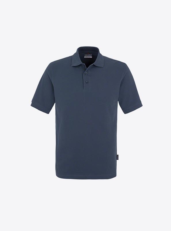 Herren Polo Shirt Besticken Lassen In Der Schweiz Hakro 810 Classic Denim