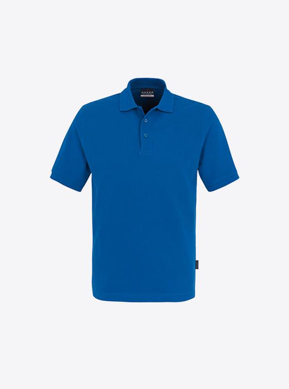 Herren Polo Shirt Besticken Mit Eigenem Design Hakro 810 Classic Royal