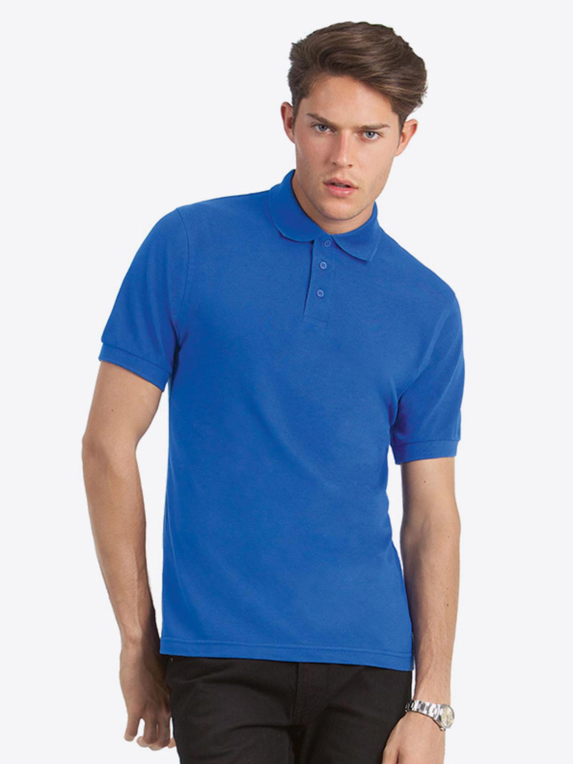 Herren Polo Shirt Bundc Safran Pu409