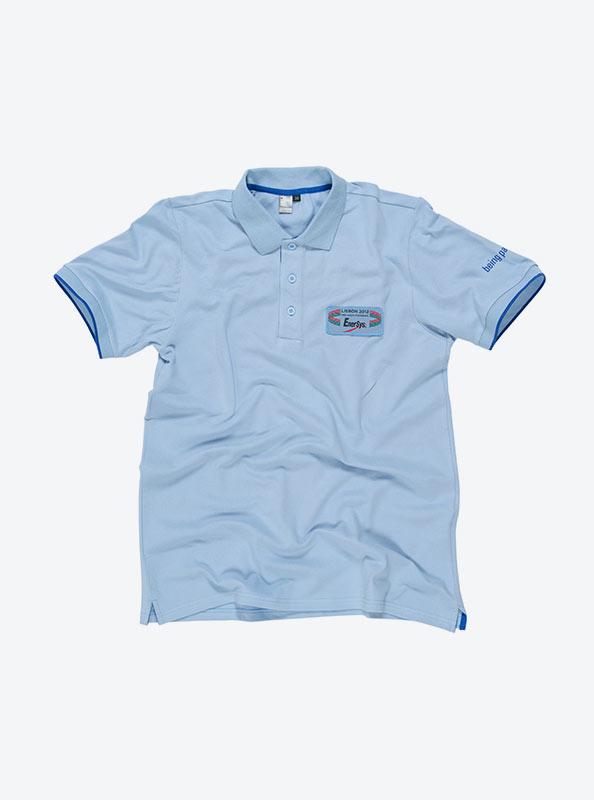 Herren Polo Shirt Drucken