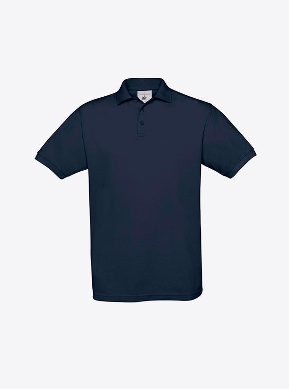 Herren Polo Shirt Drucken Lassen Bundc Safran Pu409 Navy