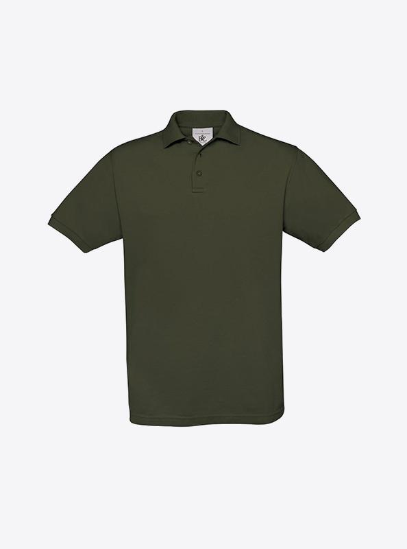 Herren Polo Shirt Fuer Event Besticken Bundc Safran Pu409 Khaki