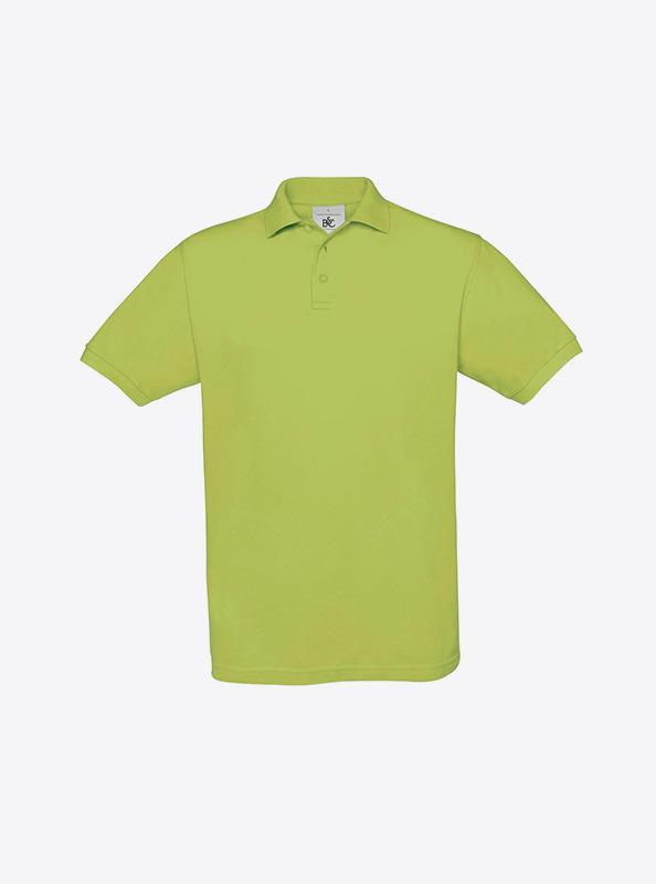 Herren Polo Shirt Fuer Firma Besticken Lassen Bundc Safran Pu409 Pistachio