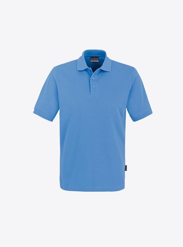 Herren Polo Shirt Gute Qualitaet Bedrucken Lassen Hakro 810 Classic Malibu