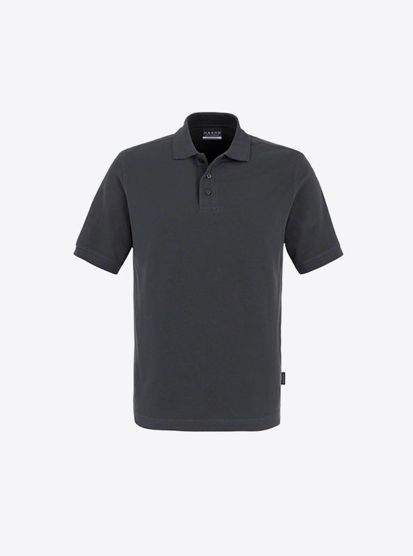 Herren Polo Shirt Hakro Bedrucken Lassen 810 Classic Anthrazit