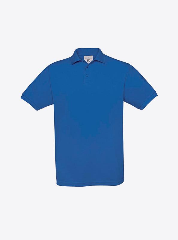 Herren Polo Shirt In Der Schweiz Besticken Lassen Bundc Safran Pu409 Royal Blue