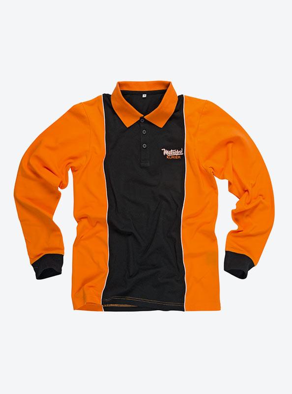 Herren Polo Shirt Langarm Bedrucken
